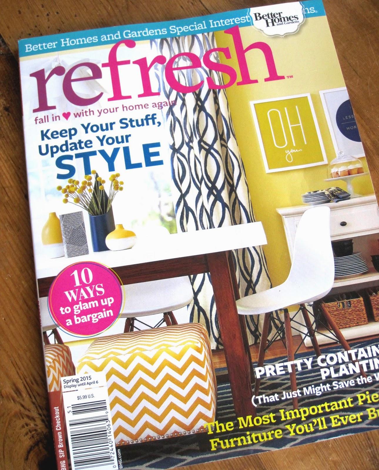 Simple Details: BH & G Refresh Magazine Refresh Magazine