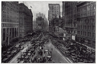 Times Square NYC 1927