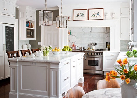 The glam pad i 39 m dreaming of a white kitchen Christopher s kitchen