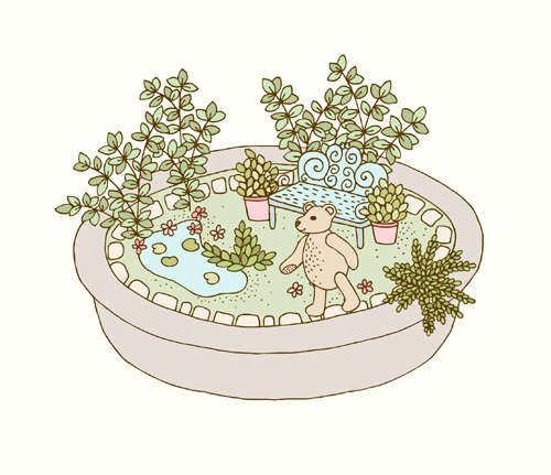 Emma Margaret Illustration Garden 2015