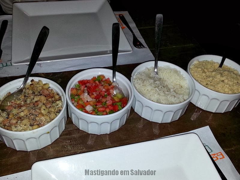 Restaurante Xapitô 39: Acompanhamentos
