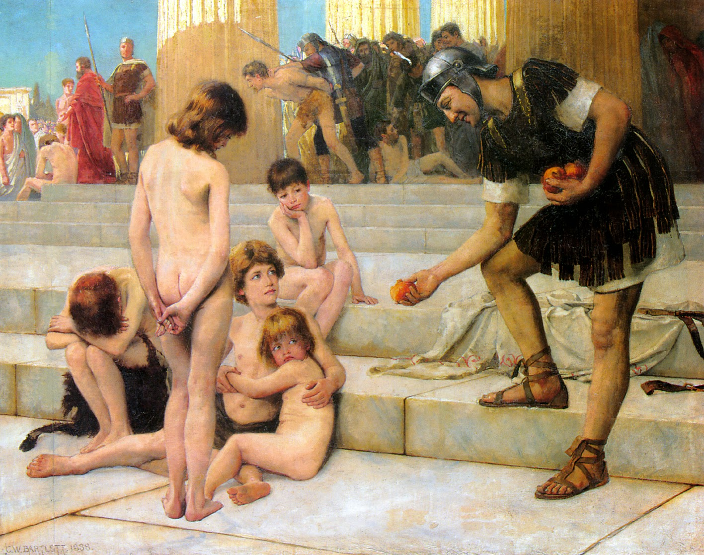 ancient rome women nude
