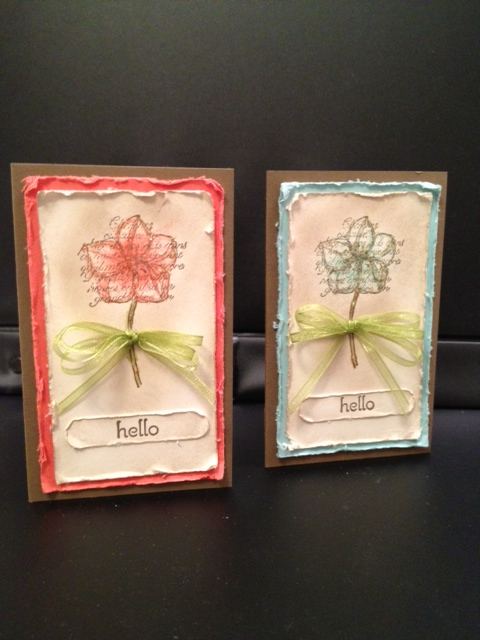 Hello Business Card Holder Cards