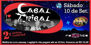 2º Ensaio Lagopirô - Muito Rock para aquecer o público