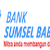 Lowongan Kerja Bank di PT. Bank Pembangunan Daerah Sumatera Selatan dan Bangka Belitung Terbaru November 2015