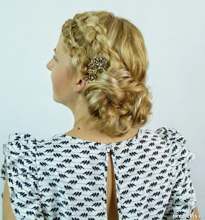 fryzura ślubna 19