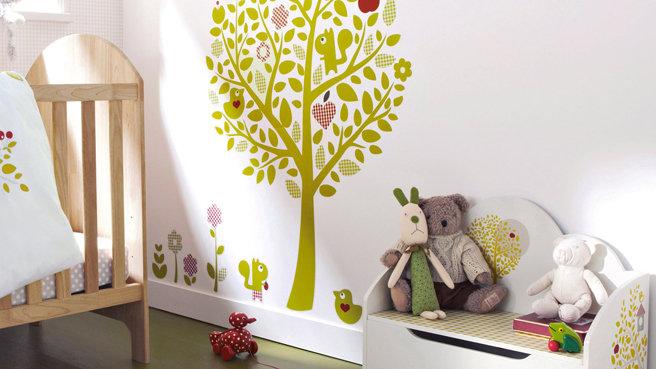 Trois ours au canada sweet nursery - Decoratie chambre natuur ...
