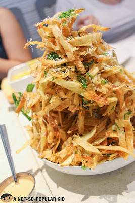 Famous Pork & Potato Strips of Kettle Restaurant