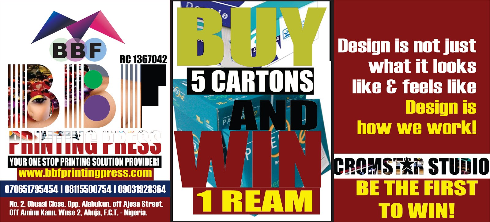 BUY AND WIN