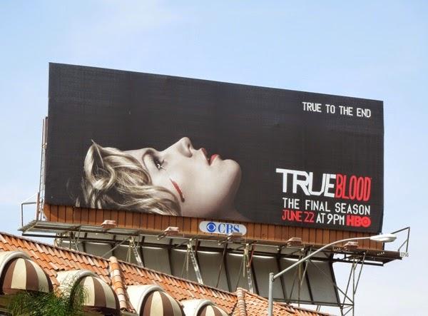 True Blood final season 7 billboard