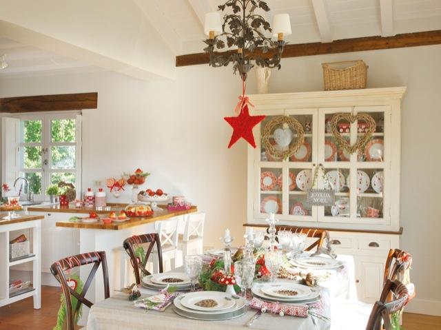 Navidad en el campo christmas in the field for Decoracion luminosa navidena