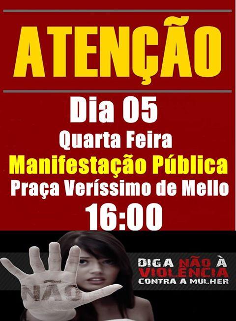 Manifestação Pública Macaé - O Grito das Mulheres
