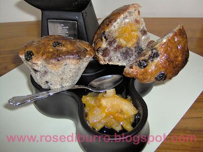 panini dolci a forma di muffins!