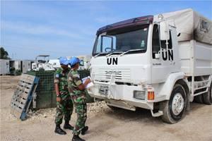 TNI Kontingen Garuda XXXII Cek Peralatan Berat di Haiti