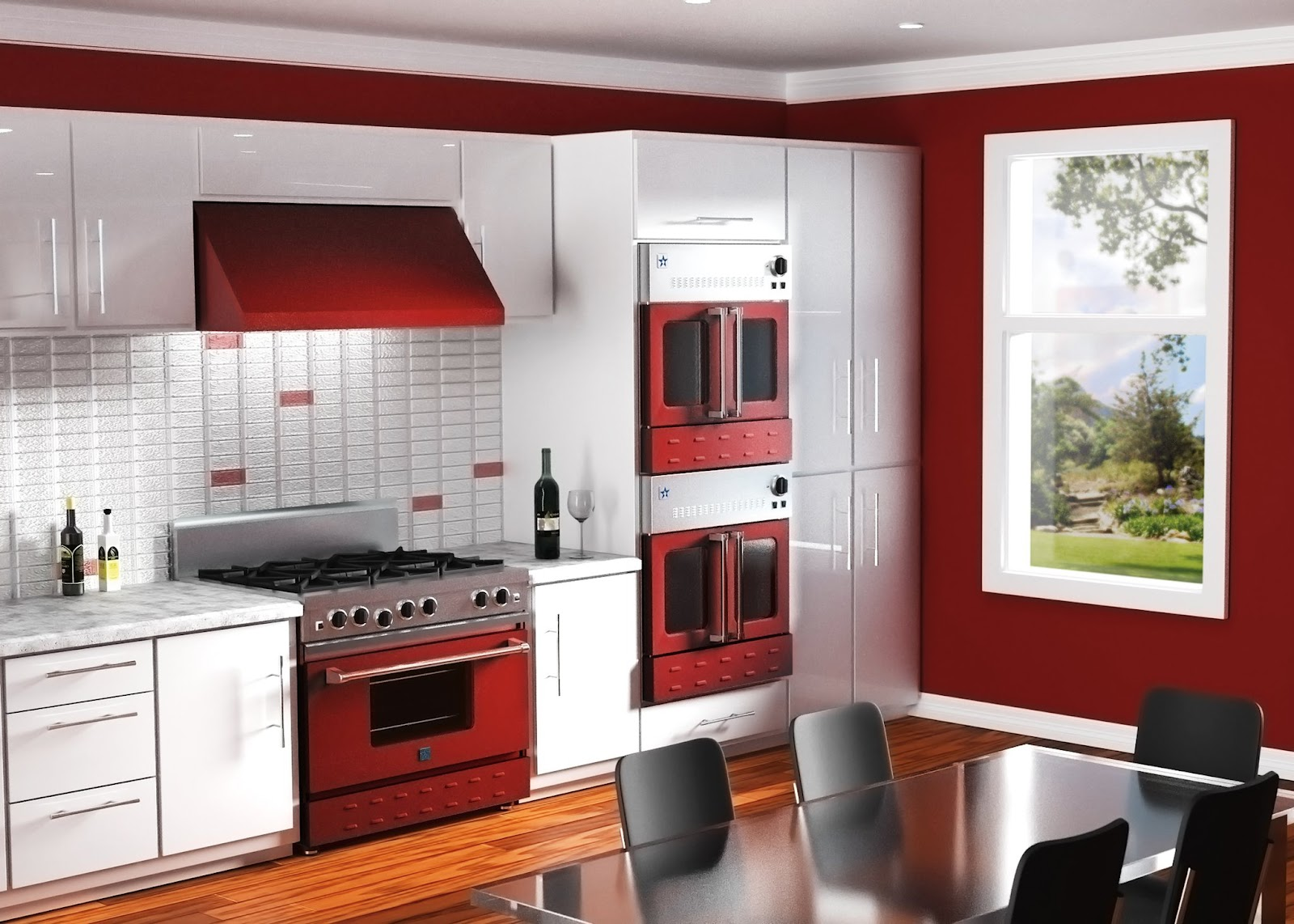 Homewerks really cool stuff for the home professional for Kitchen colors with white cabinets with fat chef wall art