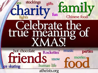 Let's take the Christ out of Christmas! Support the War on Religion!