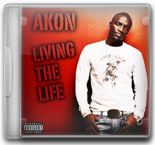 Capa CD Akon – Living The Life (2011)