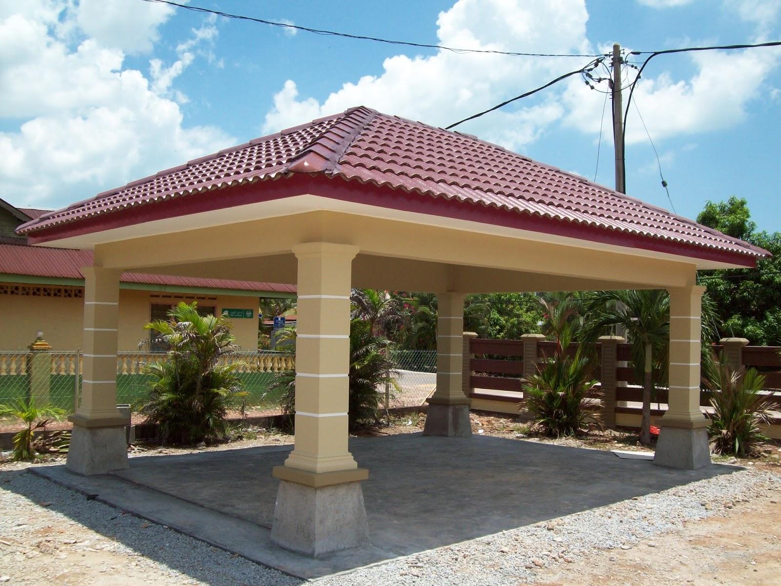 Rumah Banglo Satu Tingkat Di Serkam Pantai ~ Bina-Rumah-Idaman