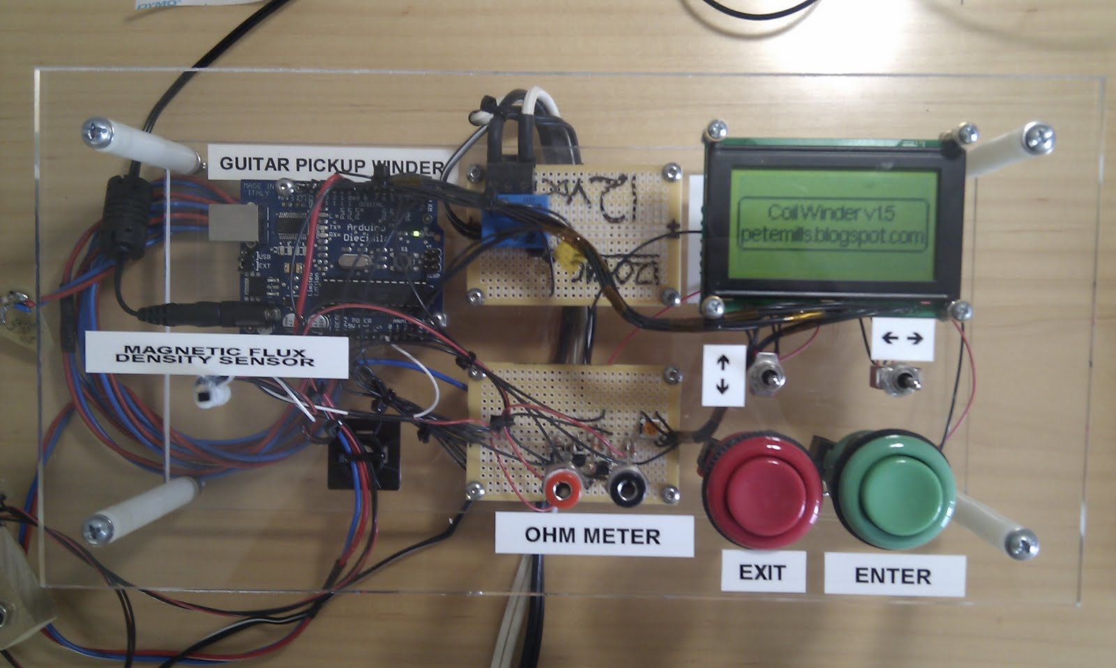Guitar Pickup Winding Workstation Hackaday Electric Parts Diagram Pickups Http Guitarwiringblogspotcom 15 Thoughts On