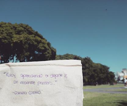 El día que deje de doler lo sabrás porque ya verás que ya no escribo sobre ti.