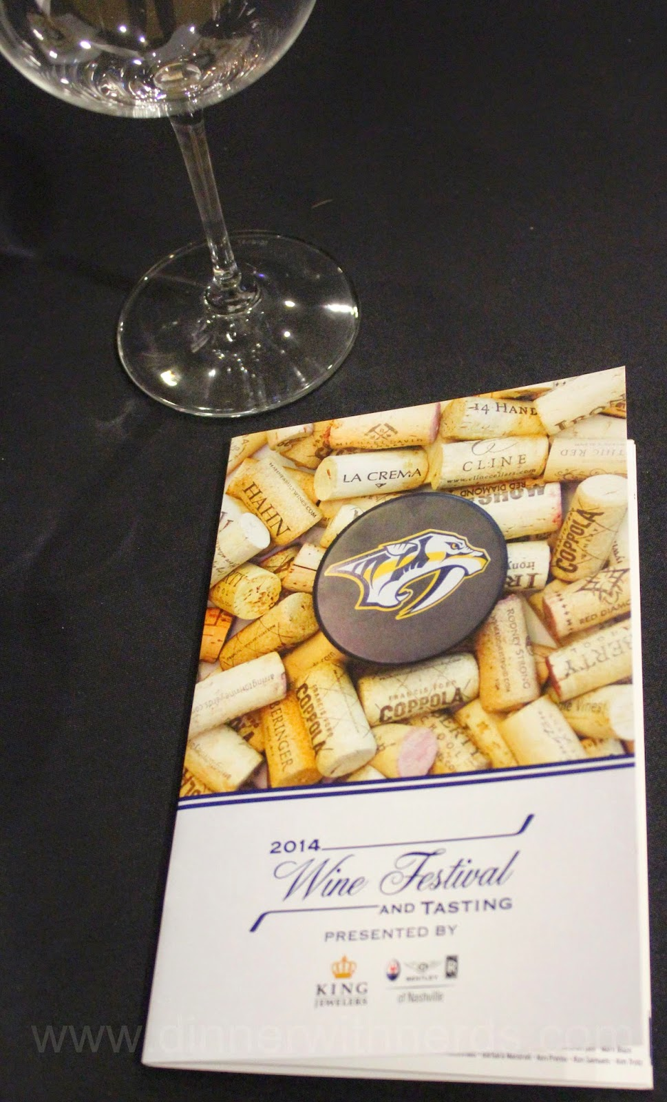 Nashville Predators Foundation Wine Tasting