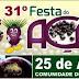 31ª FESTA DO AÇAÍ 2015 - COMUNIDADE DO ESTIRÃO (Zona Rural de Manicoré) terá show da Banda Amazonas de Manacapuru.