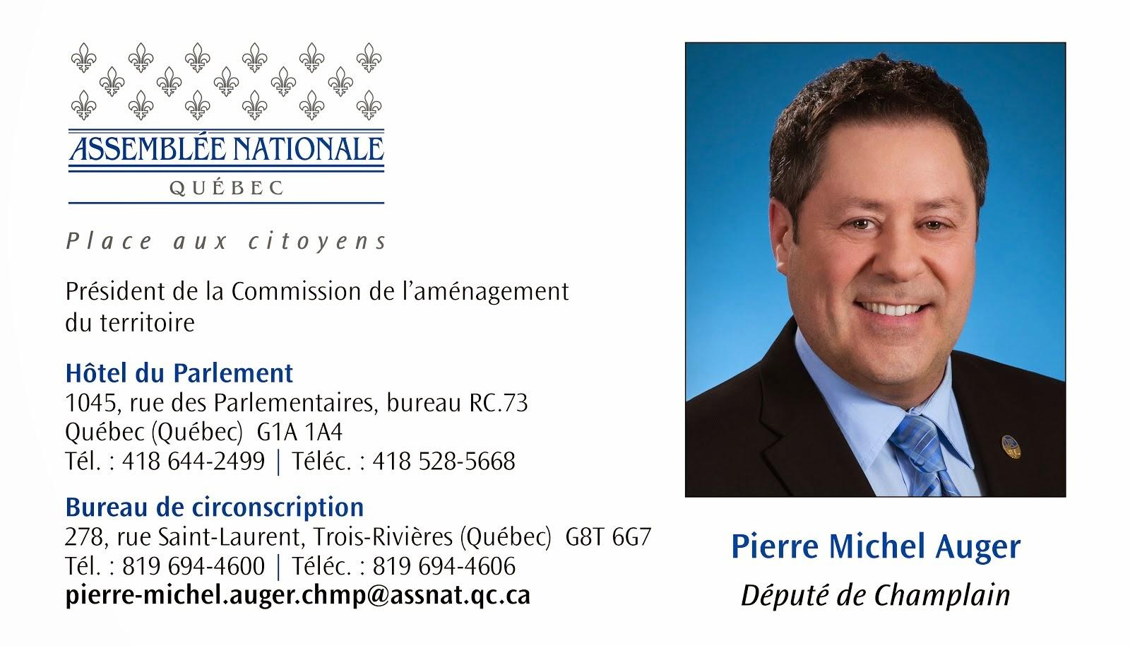 Député de Champlain