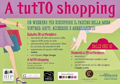 Locandina A tutTO shopping Torino