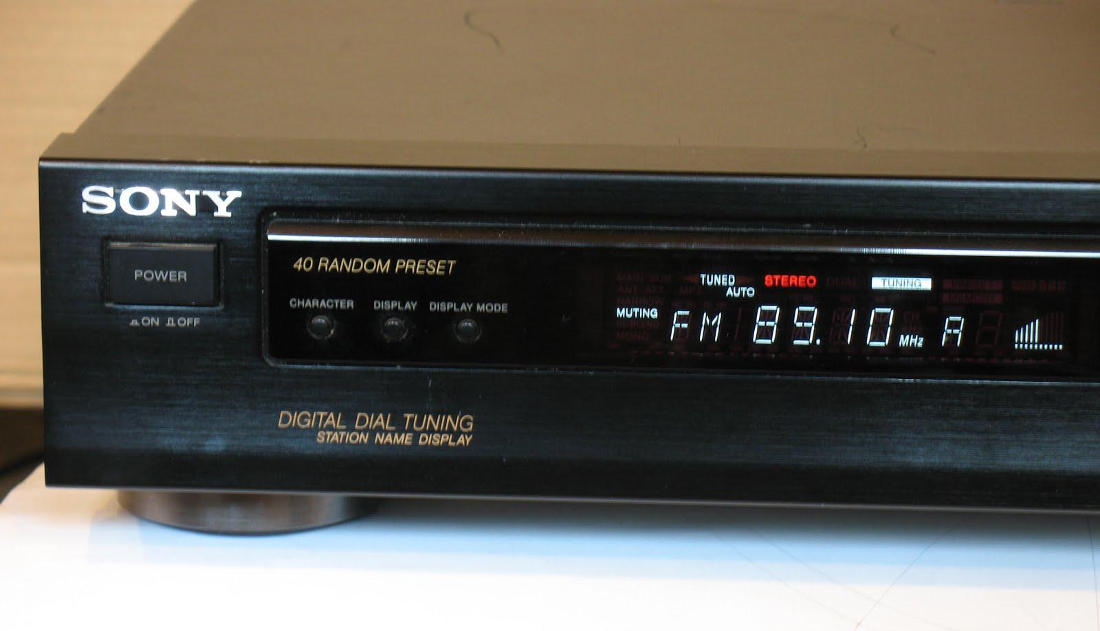 Sony ST-S211 - Digital Tuner | AudioBaza
