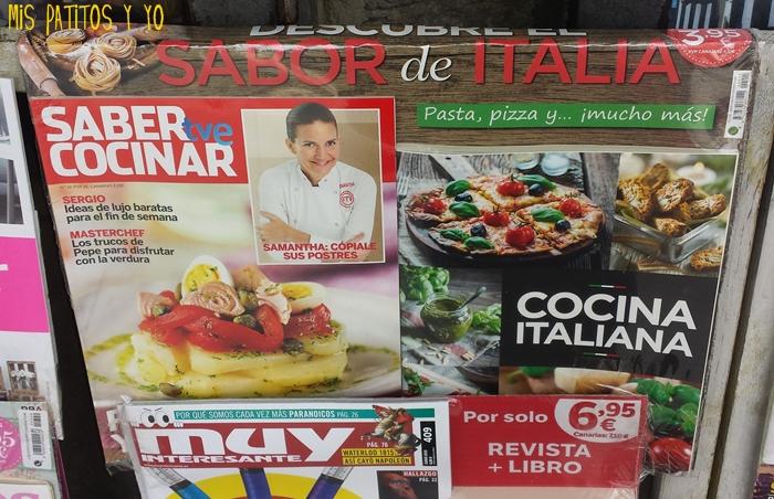lecturas especial recetas cocina: