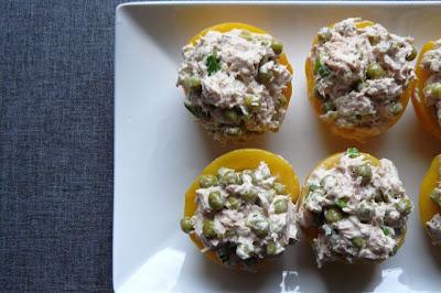 Przekąski z tuńczyka
