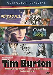 Lo Mejor de Tim Burton. Pack 3 DVDs