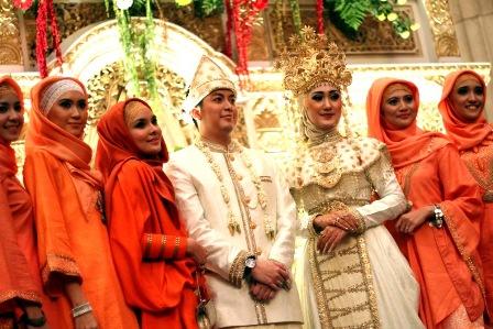 ornamen undangan pernikahan