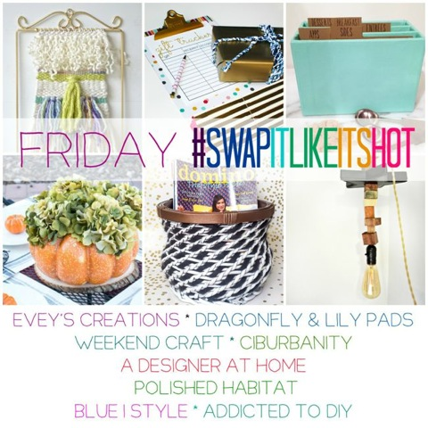 Swap It Like It's Hot – Thrifted Makeovers (Friday)