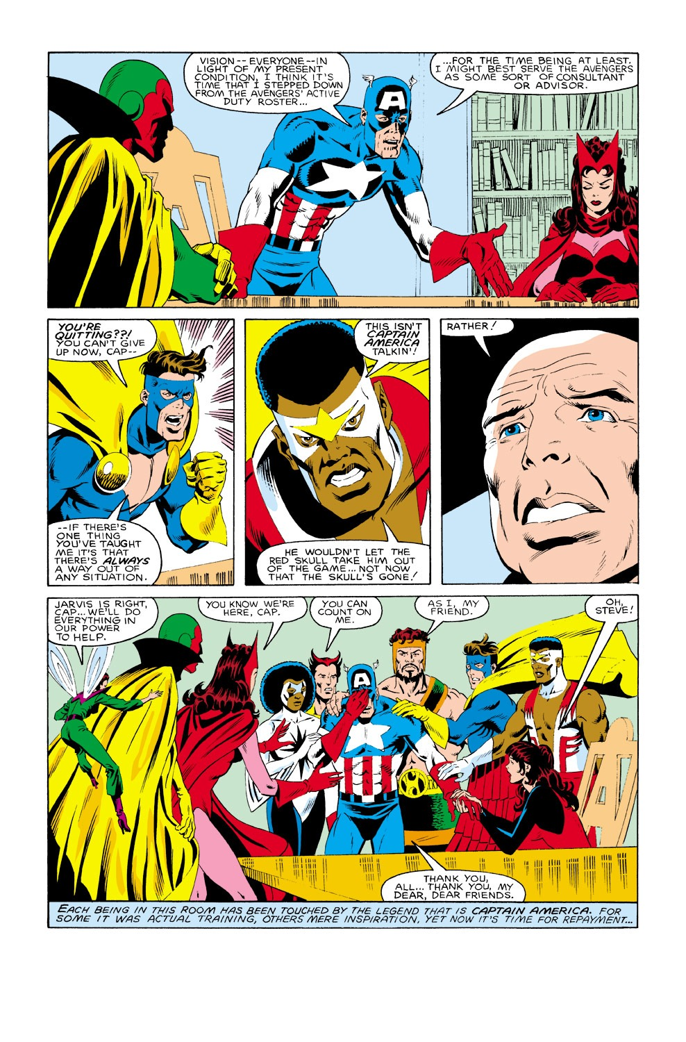 Captain America (1968) Issue #301 #229 - English 7