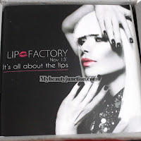 Lip Factory November 2013 all-lips beauty box review, unboxing, photos
