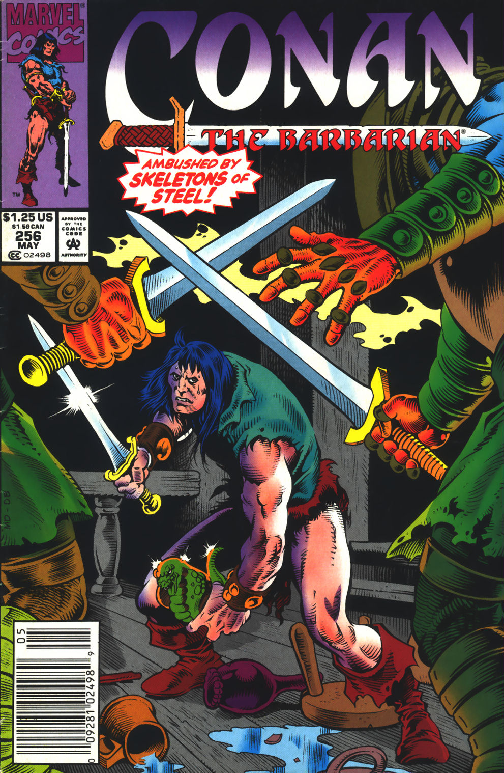 Conan the Barbarian (1970) Issue #256 #268 - English 1