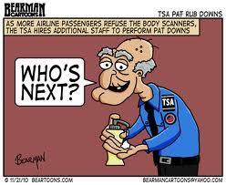 Shady's Perspective: Need a Diaper Change....Call TSA 24/7
