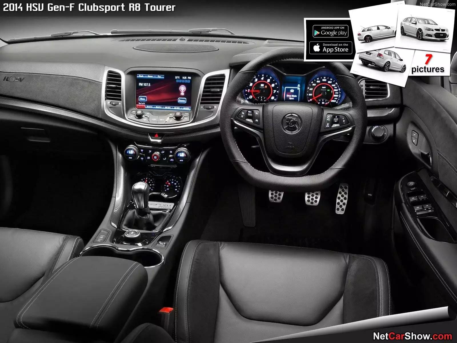 Hình ảnh xe ô tô HSV Gen-F Clubsport R8 Tourer 2014 & nội ngoại thất
