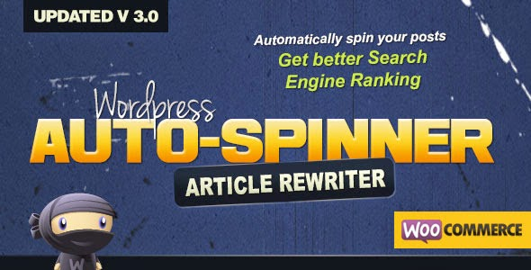 WordPress Auto Spinner 3.0.2 – Articles Rewriter