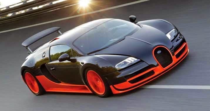 mobil sport Bugatti Veyron