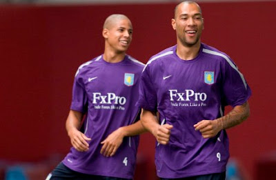 Aston Villa Soccer Players