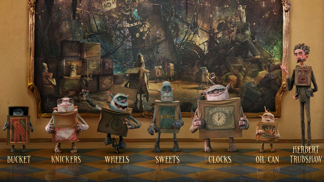 the boxtrolls-dee bradley baker-bucket-nika futterman-knickers-wheels-pat fraley-sweets-fred tatasciore-clocks-oil can-simon pegg-herbert trubshaw