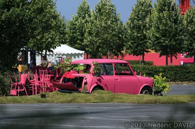 mini rose anglais spectacle fête Carré Sénart Lieusaint Seine et Marne