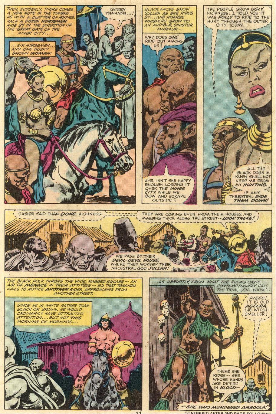 Conan the Barbarian (1970) Issue #106 #118 - English 9
