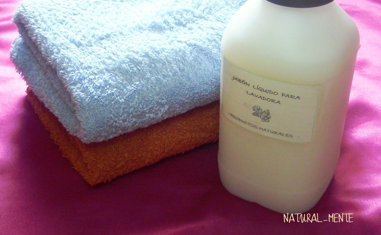 Naturaleza sabia en tiempos de crisis jab n liquido - Jabon natural para lavadora ...