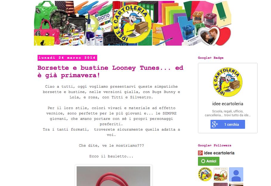 l'altro mio blog...