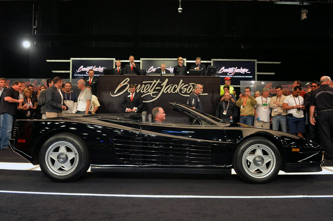 1986 ferrari testarossa straman convertible barrett jackson 2014 photos latest auto design. Black Bedroom Furniture Sets. Home Design Ideas