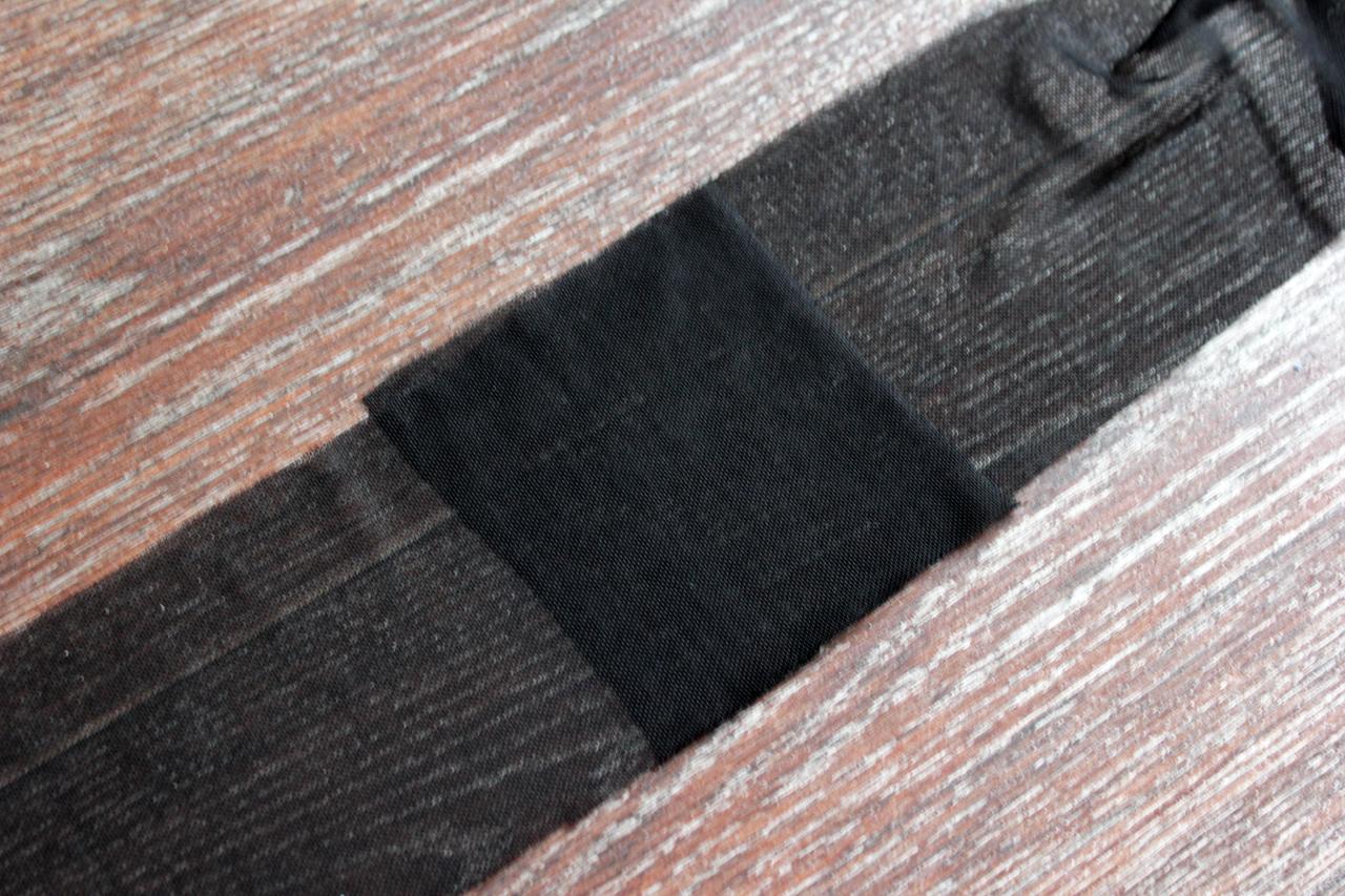 Как сделать полоски на по бокам