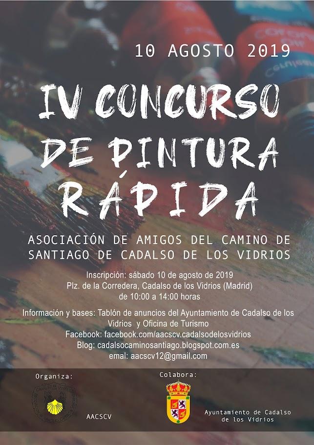 CONCURSO DE PINTURA RÁPIDA EN CADALSO